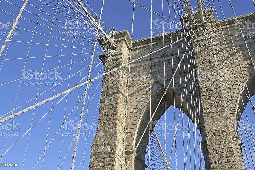 another brooklyn bridge royalty-free stock photo