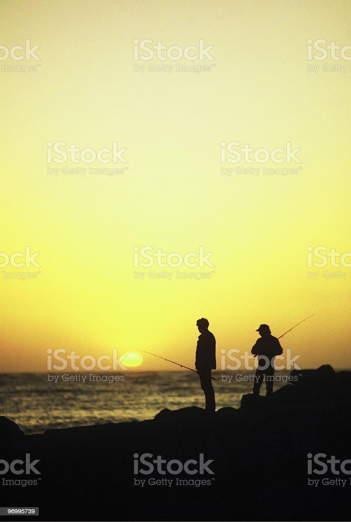 another california sunset stock photo