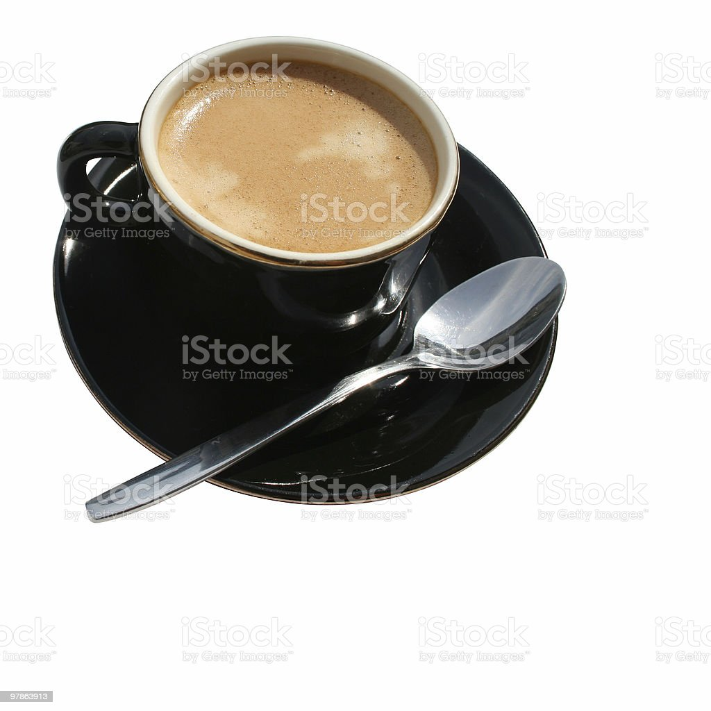 Another cup of coffee royalty-free stock photo