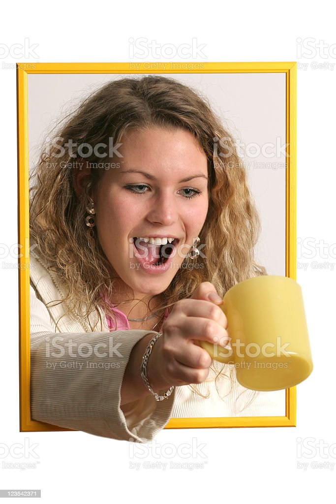 Another cup of tea stock photo