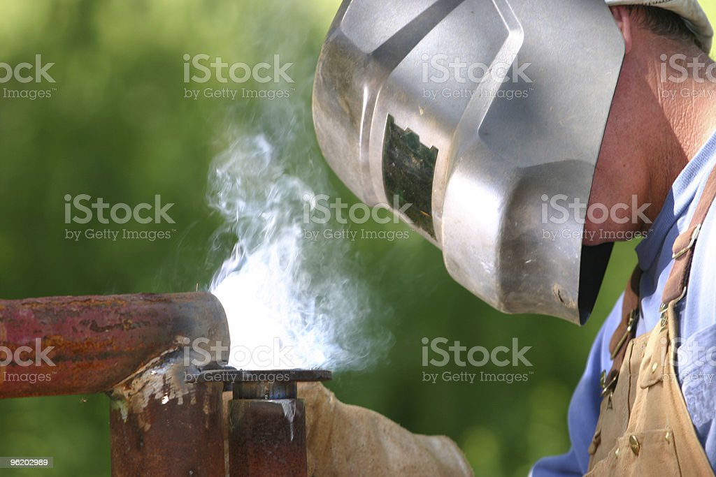 Another day at work stock photo