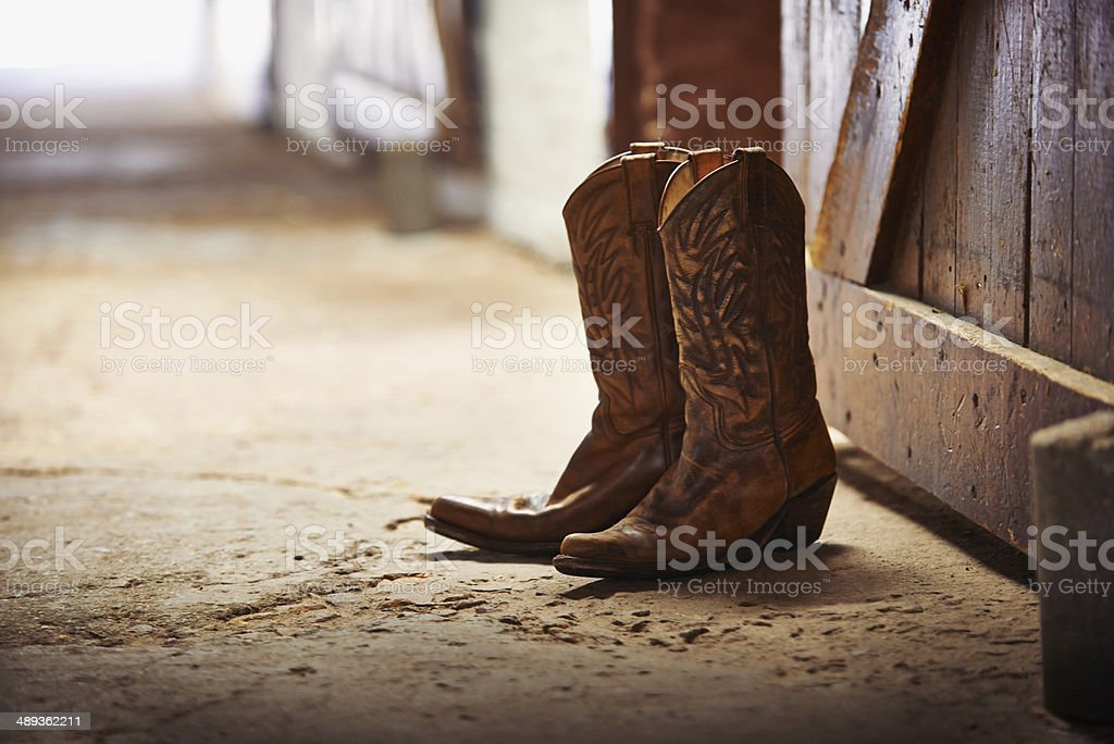 Another day done stock photo