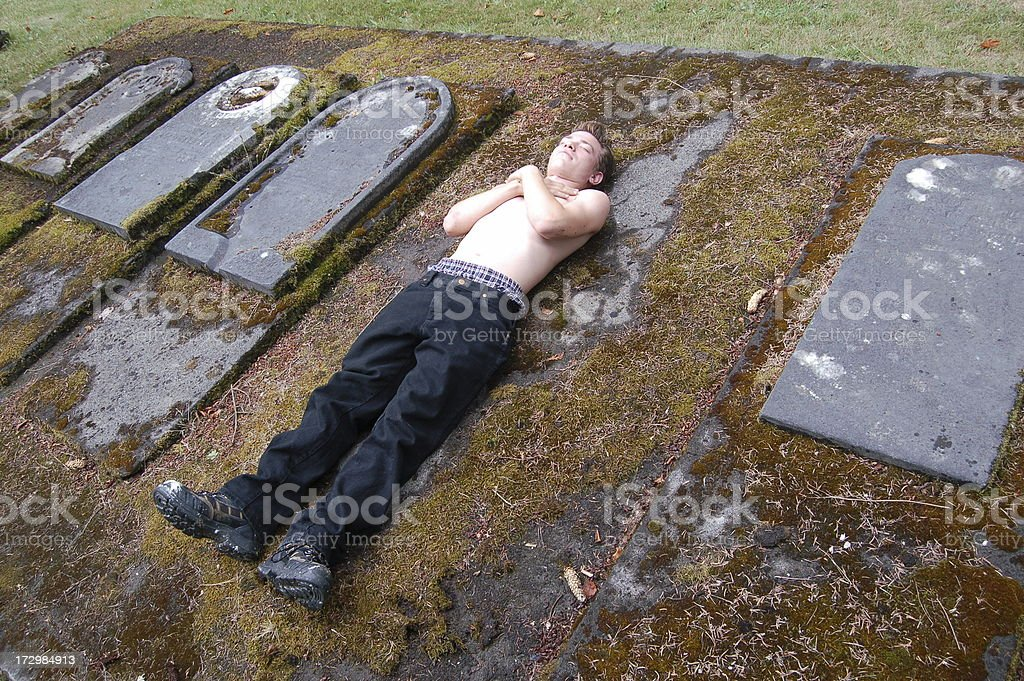 Another Dead Body stock photo