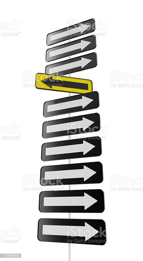 Another Direction stock photo