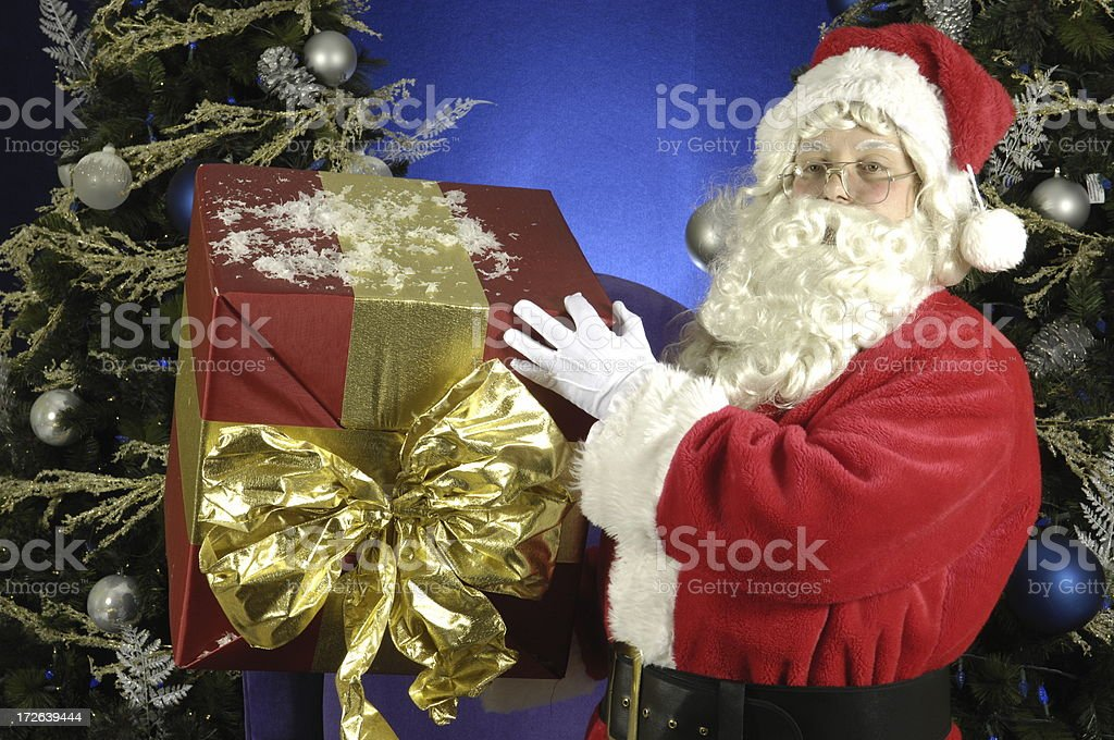 Another gift for you from Santa stock photo