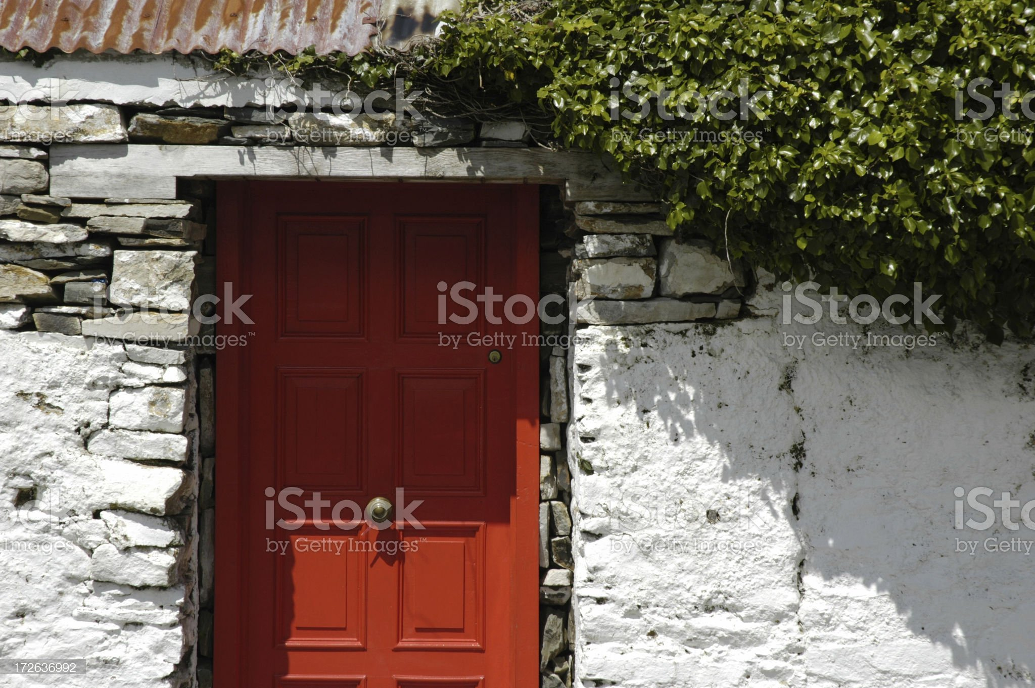 Another Irish Door royalty-free stock photo