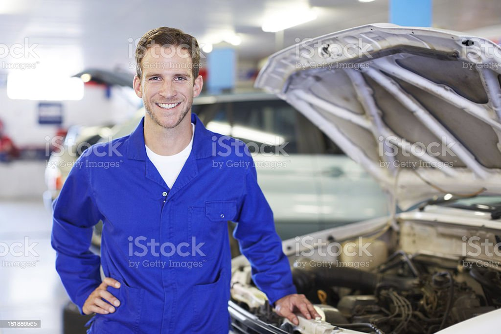 Another job well done royalty-free stock photo