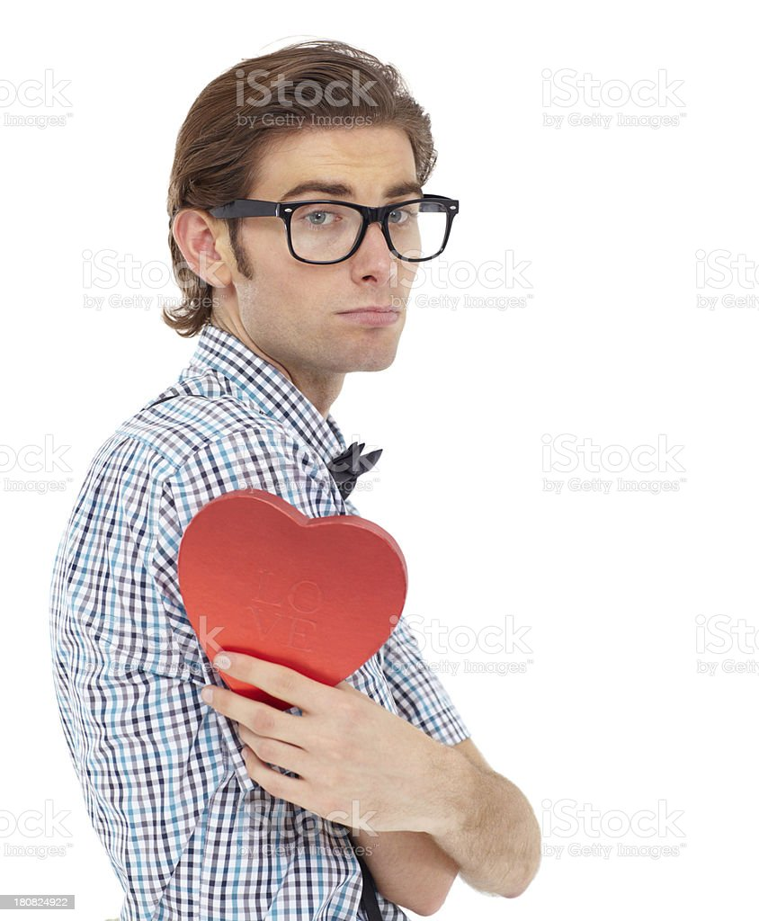 Another lonely Valentine's day... royalty-free stock photo