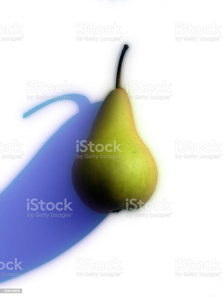 Another pear royalty-free stock photo