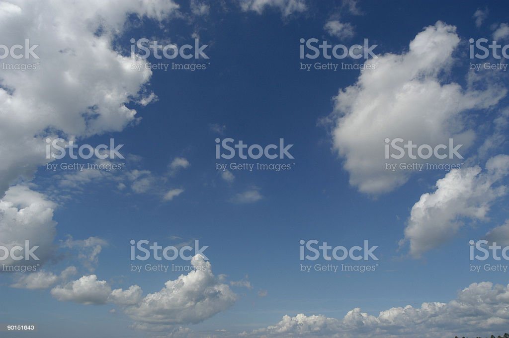 Another Pretty Cloud Formation royalty-free stock photo