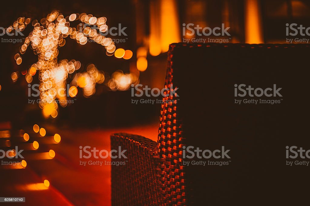 Another pretty night of lights & music stock photo