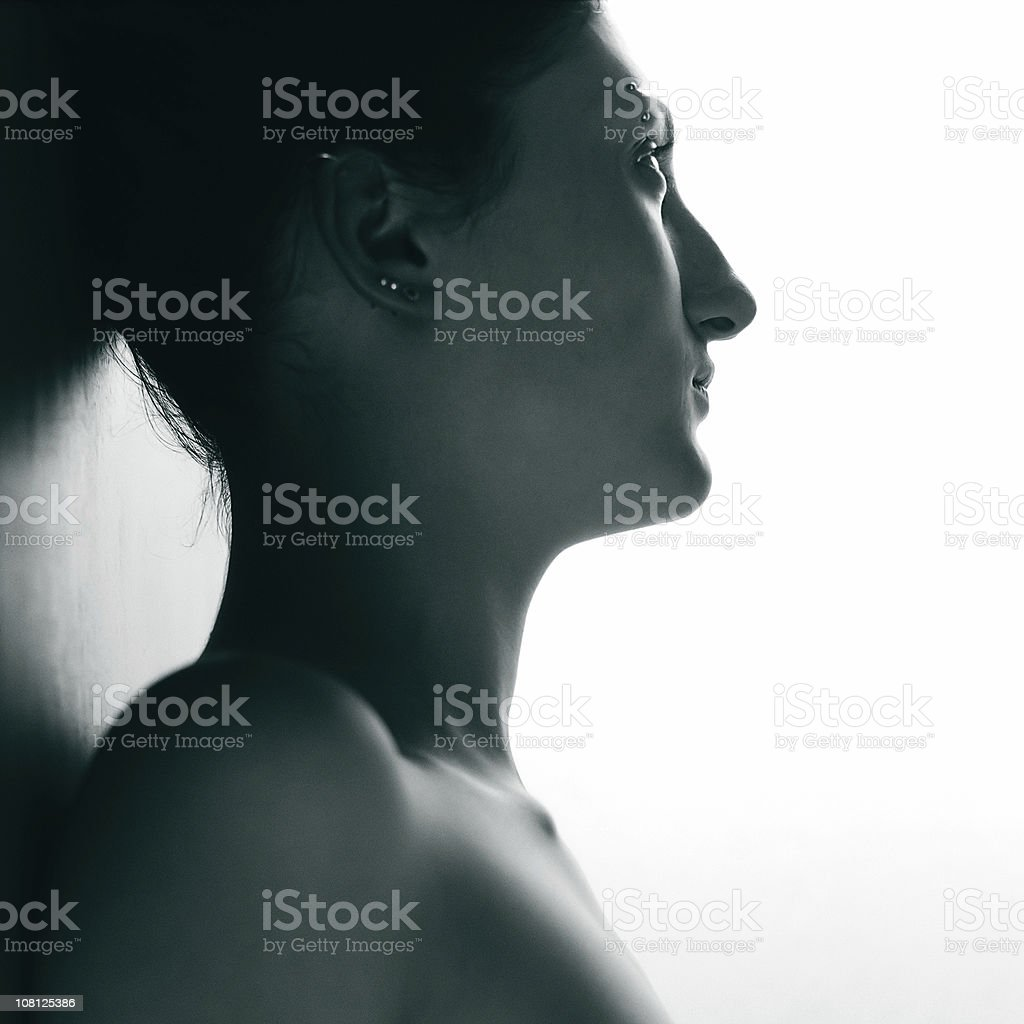 Another profile shot royalty-free stock photo