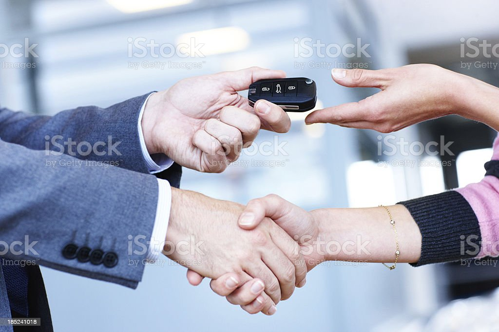 Another satisfied customer royalty-free stock photo