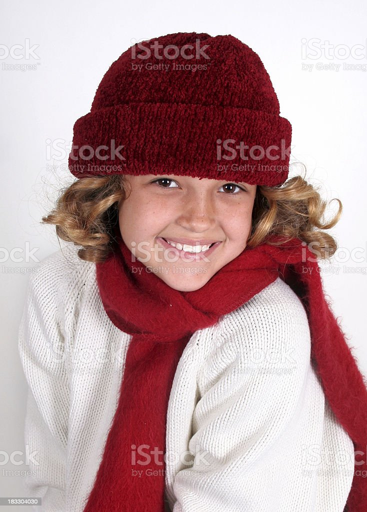 Another Snow Bunny royalty-free stock photo