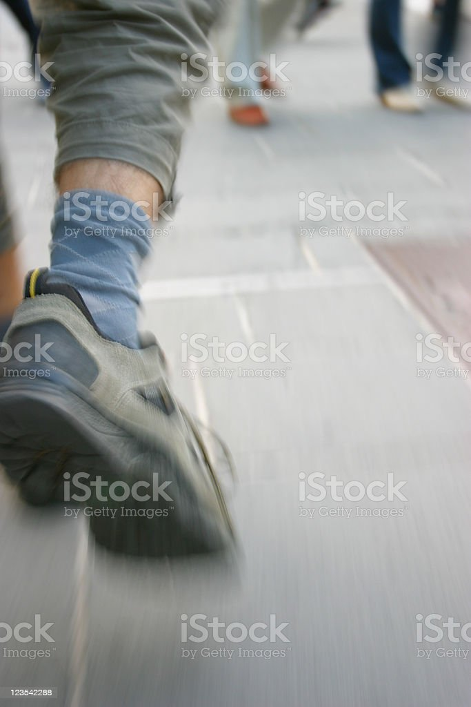 Another step royalty-free stock photo