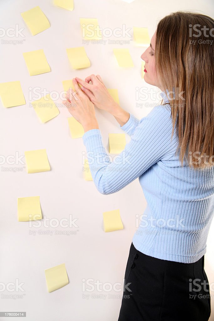 Another Sticky Note... royalty-free stock photo