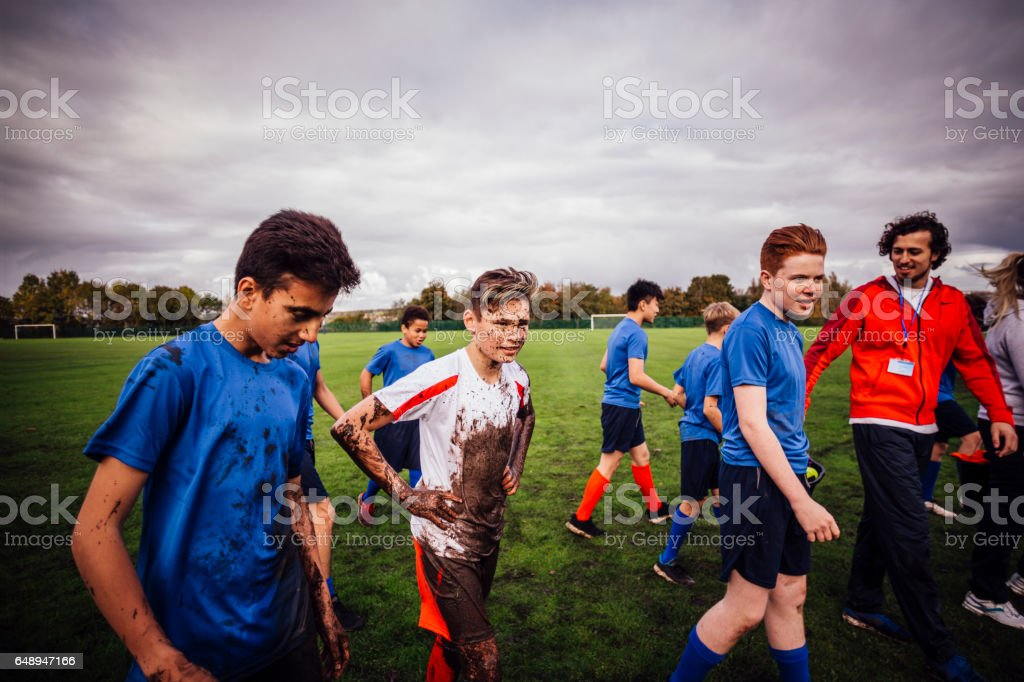 Another Successful Game stock photo