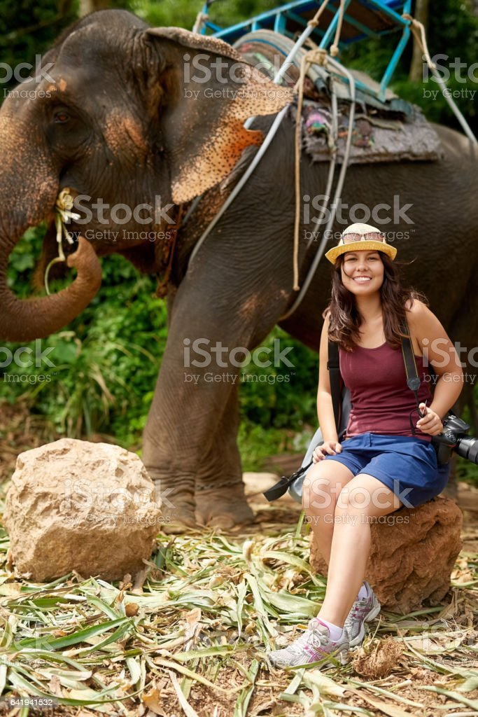 Another tick off my bucket list! stock photo
