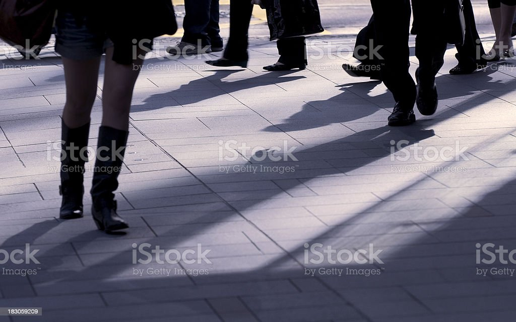 Another Working Day royalty-free stock photo