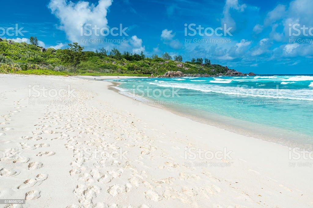 Anse Cocos - La Digue, Seychelles stock photo