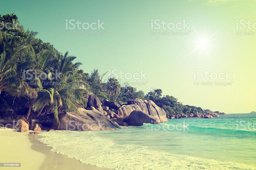 anse lazio praslin island seychelles royalty-free stock photo