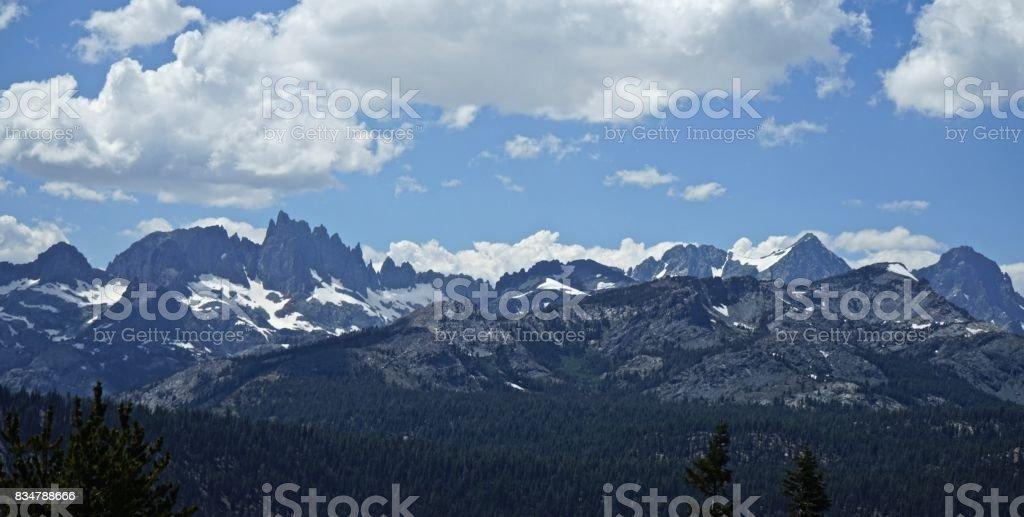 Ansel Adams Wilderness stock photo