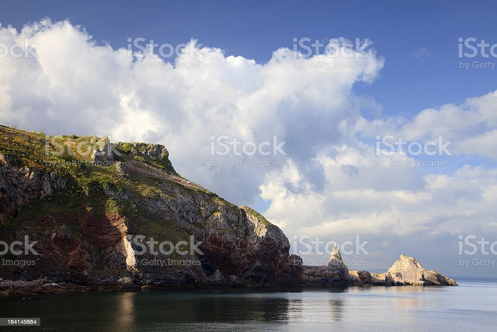 Anstey's Cove stock photo