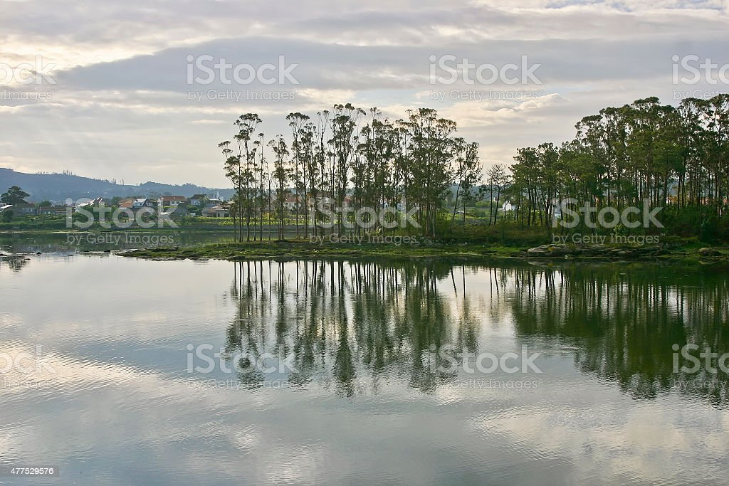 Ansuina island stock photo