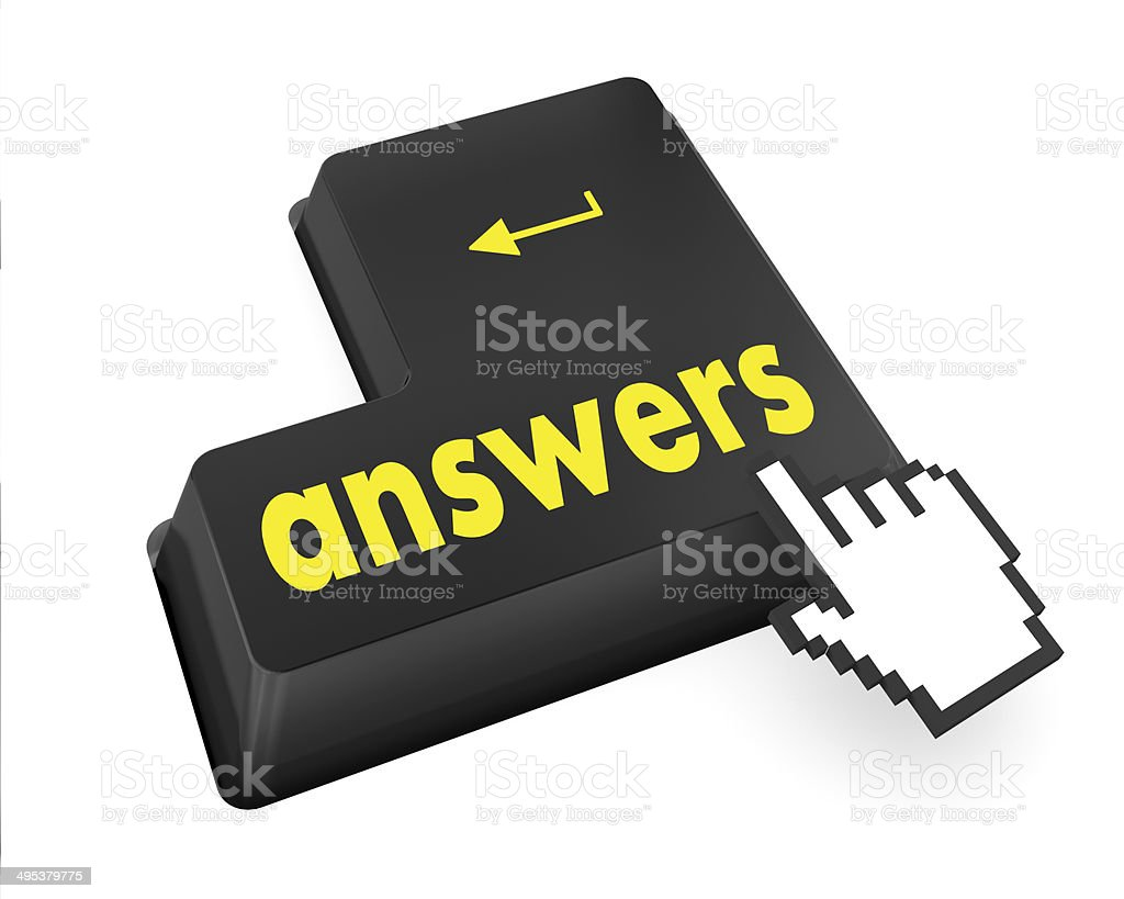 answers stock photo
