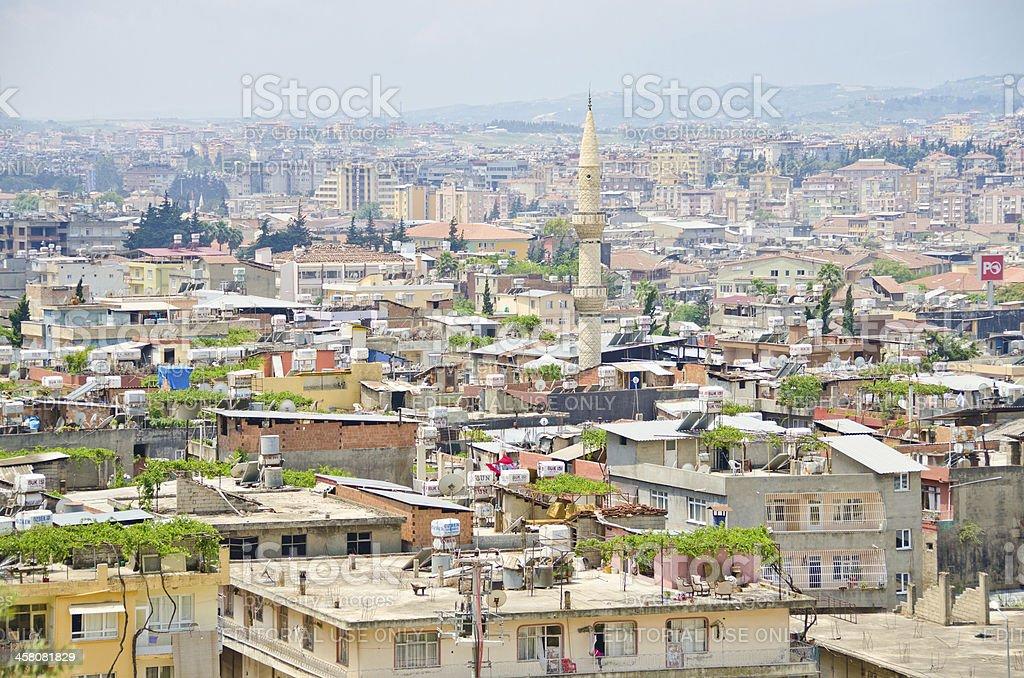 Antakya, Turkey - cityscape stock photo