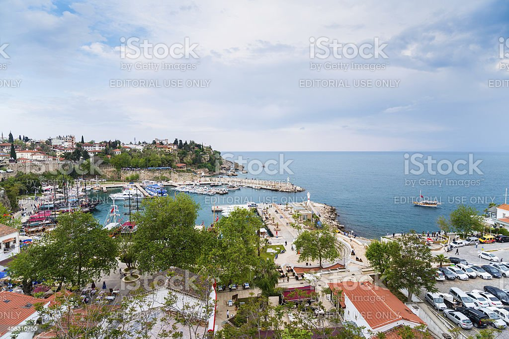 Antalya Harbour royalty-free stock photo