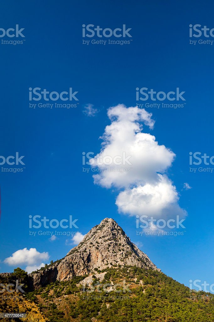 Antalya mountains stock photo