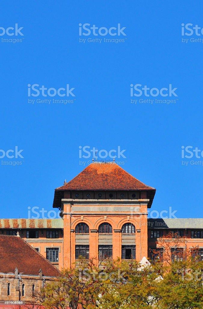 Antananarivo, Madagascar: Andohalo high school stock photo