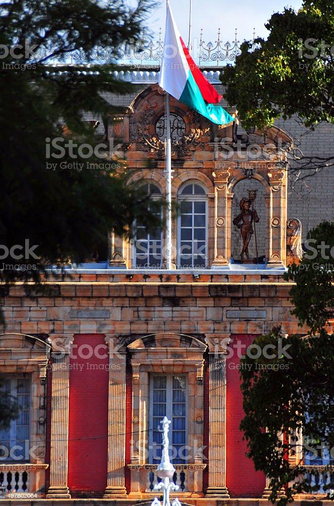 Antananarivo, Madagascar: the presidential palace stock photo
