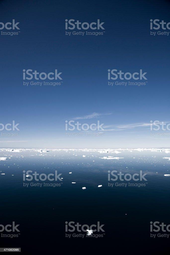 Antarctic Blue royalty-free stock photo