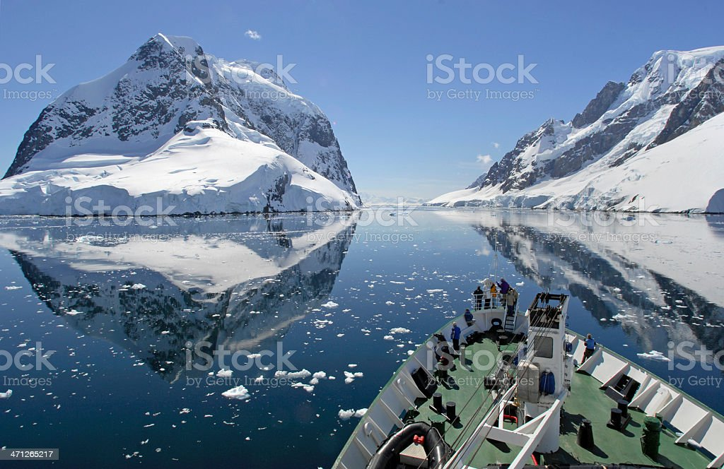 Antarctic Cruise stock photo