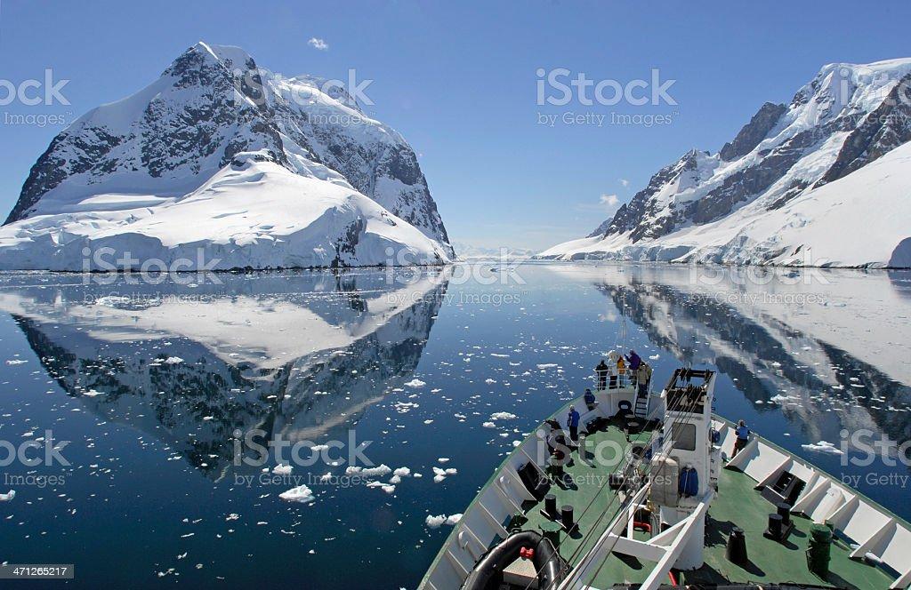 Antarctic Cruise stock photo