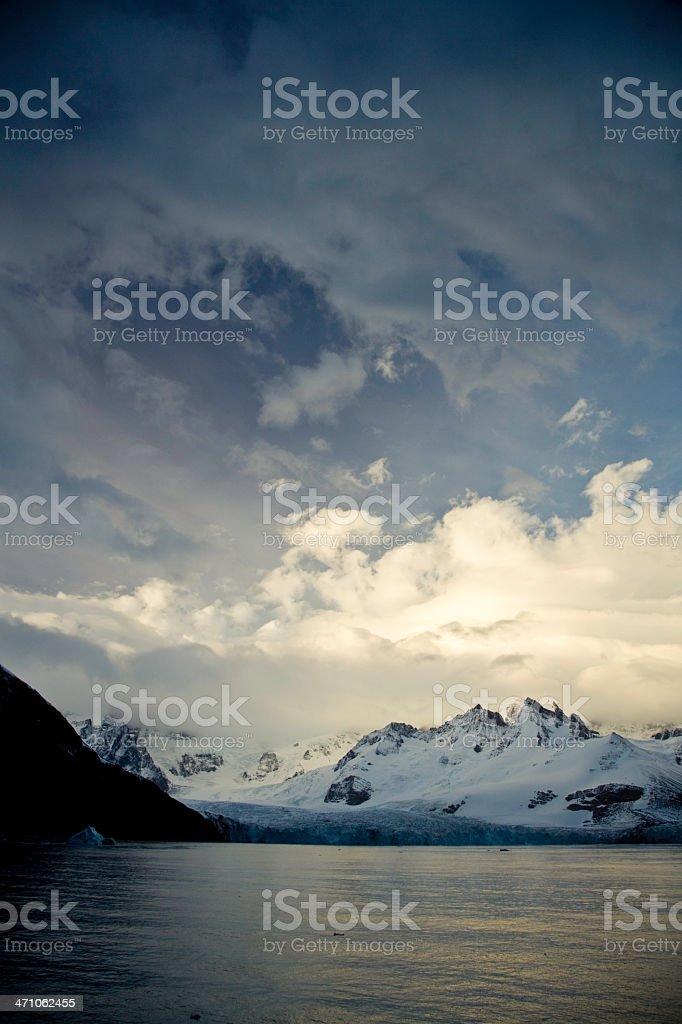 Antarctic Dramatic Sky royalty-free stock photo