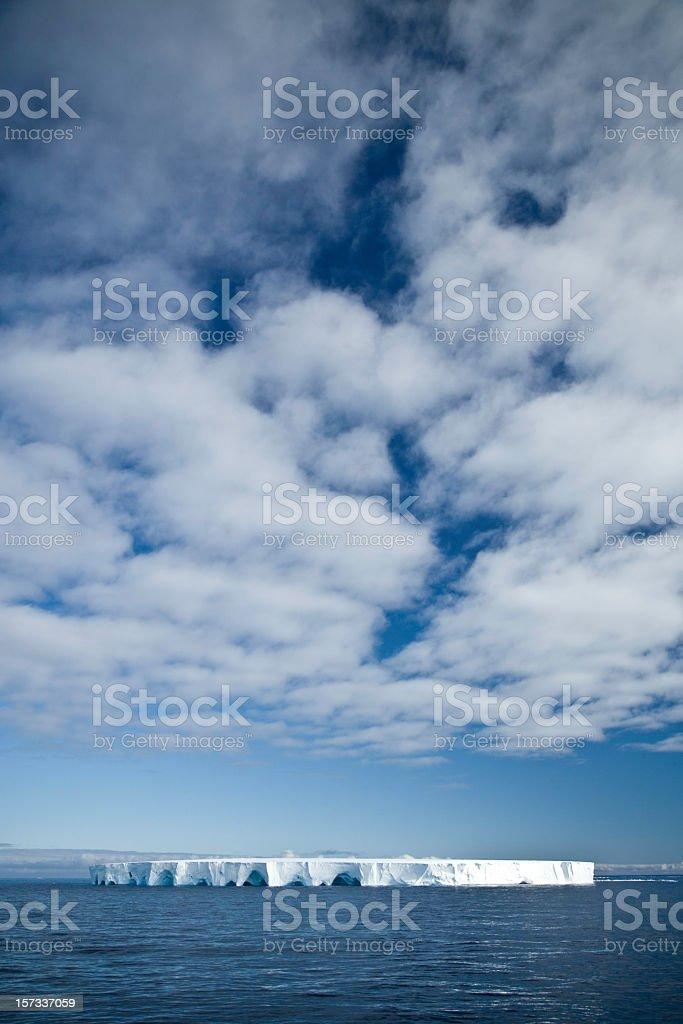 Antarctic Iceberg Ocean View stock photo