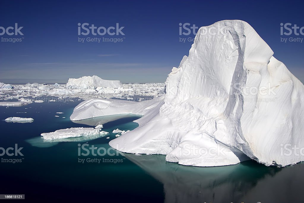 Antarctic Iceberg royalty-free stock photo