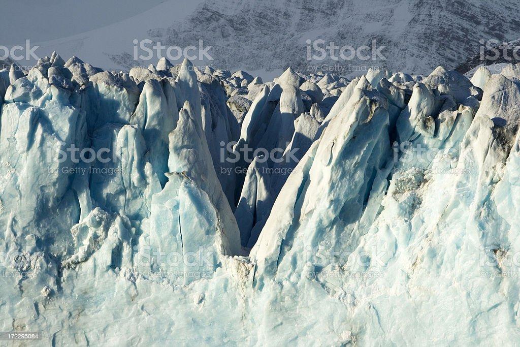 Antarctic Iceberg with Crevasses royalty-free stock photo