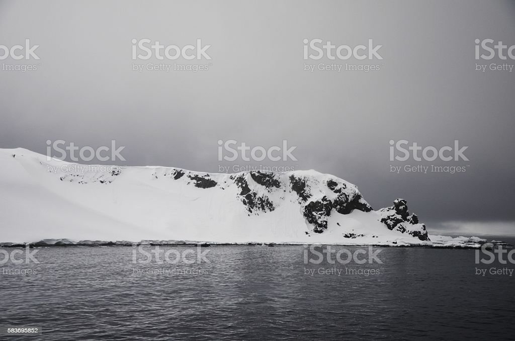 Antarctic Peninsula Calm stock photo