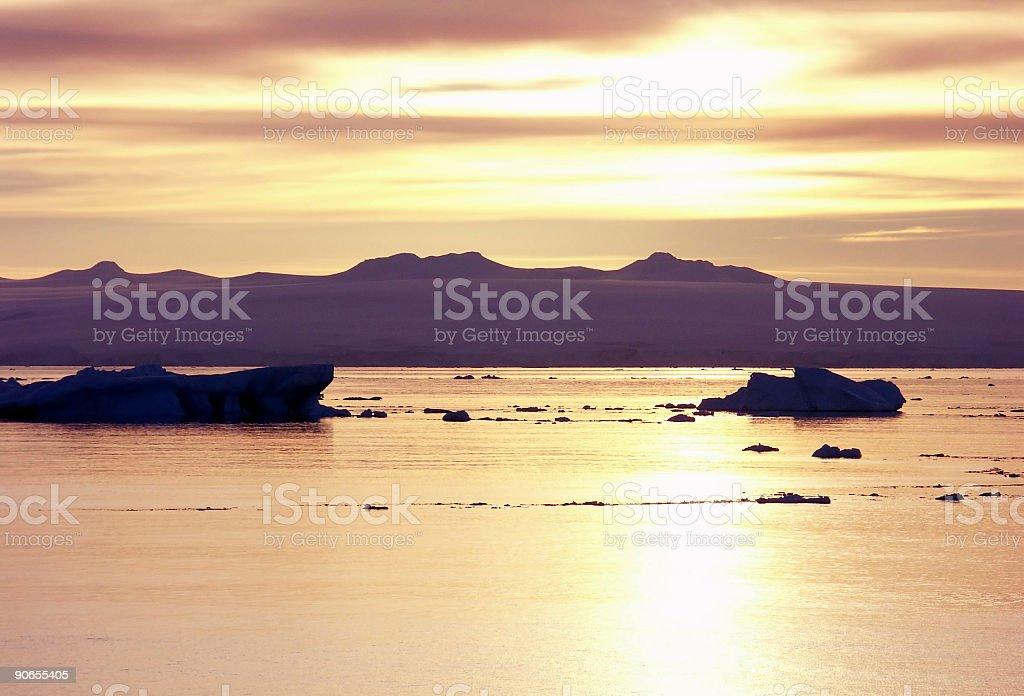 Antarctic Sound stock photo