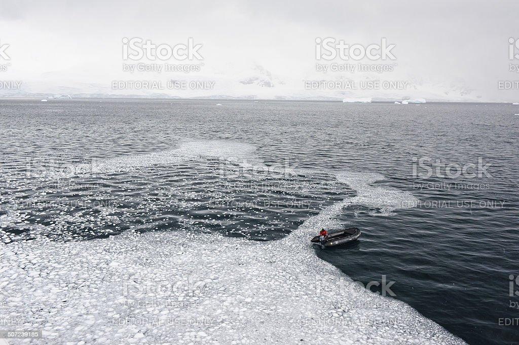 Antarctic Tour stock photo