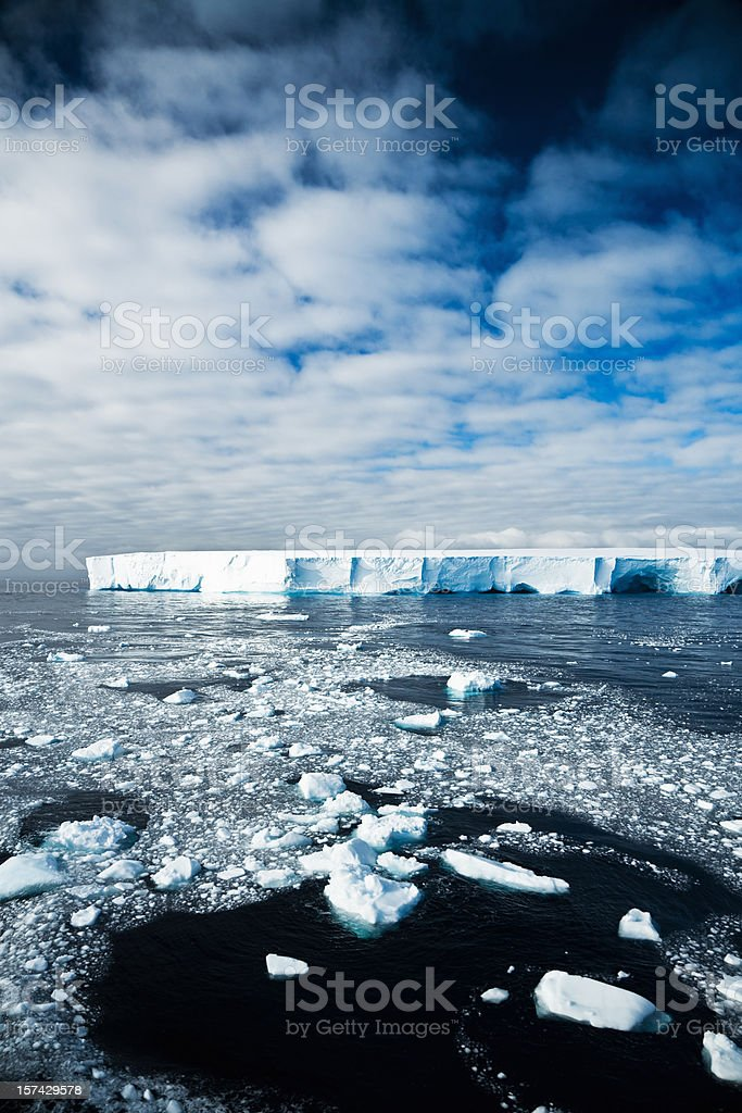 Antarctic Wilderness Perpetual Ice stock photo