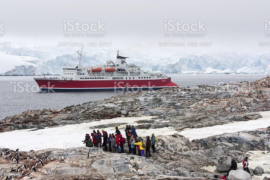 Antarctica Cruise stock photo