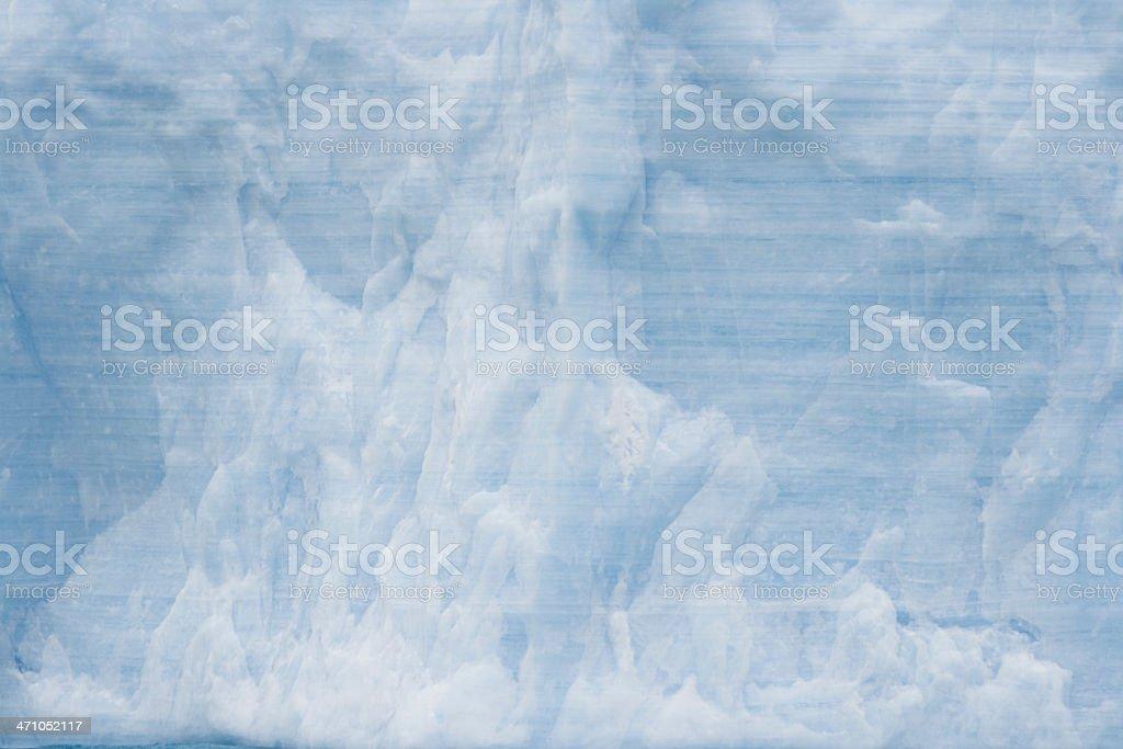 Antarctica Glacier Ice Texture royalty-free stock photo