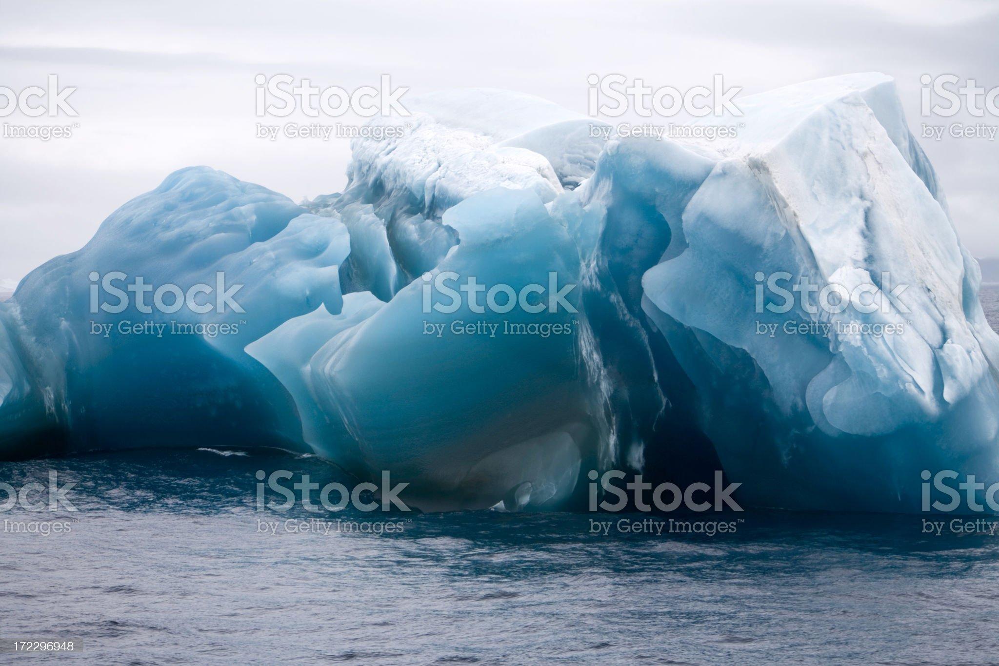 Antarctica Iceberg IV royalty-free stock photo