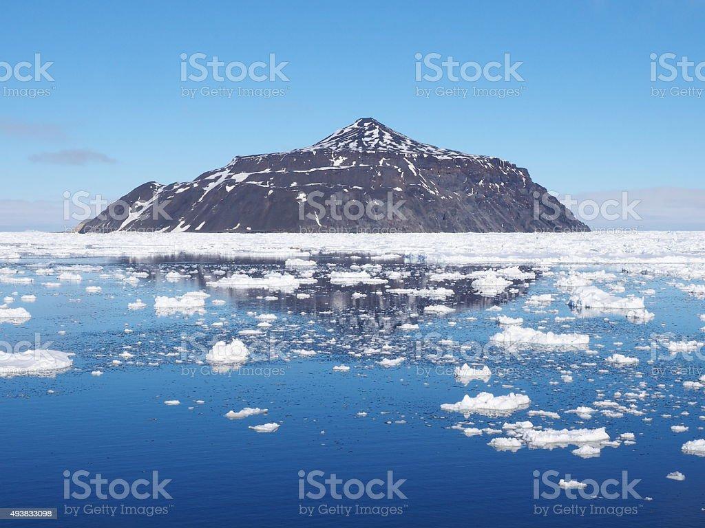 Antarctica iceberg landscape stock photo