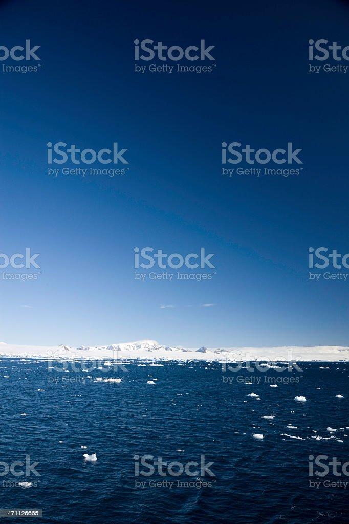 Antarctica Icy Landscape royalty-free stock photo